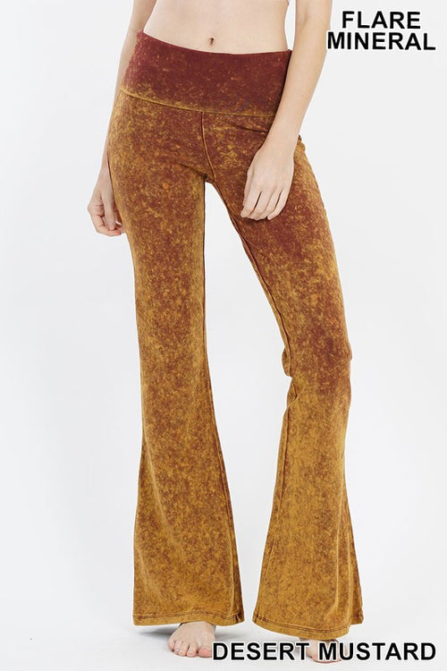 Mineral Washed Bell Bottoms
