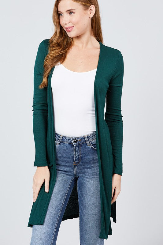 Light Weight Ribbed Cardigans