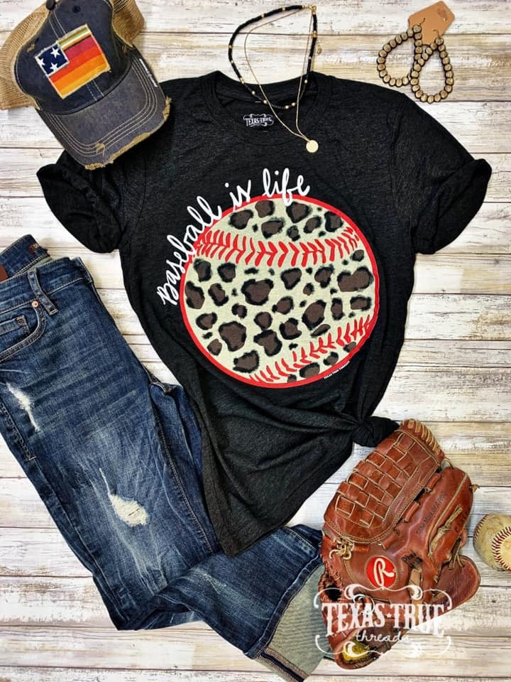 Leopard Softball is Life Tee