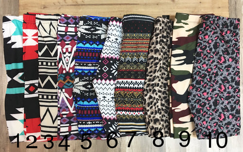 Kids Printed Legging Sale