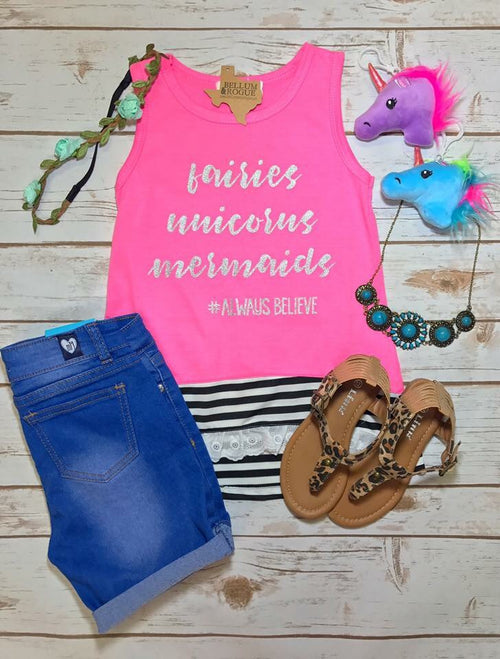 Fairies, Unicorns & Mermaids Tank