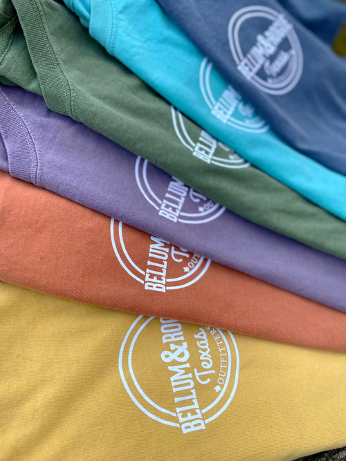 Comfort Colors Logo Tee (Short Sleeve) - Outdoors Collection