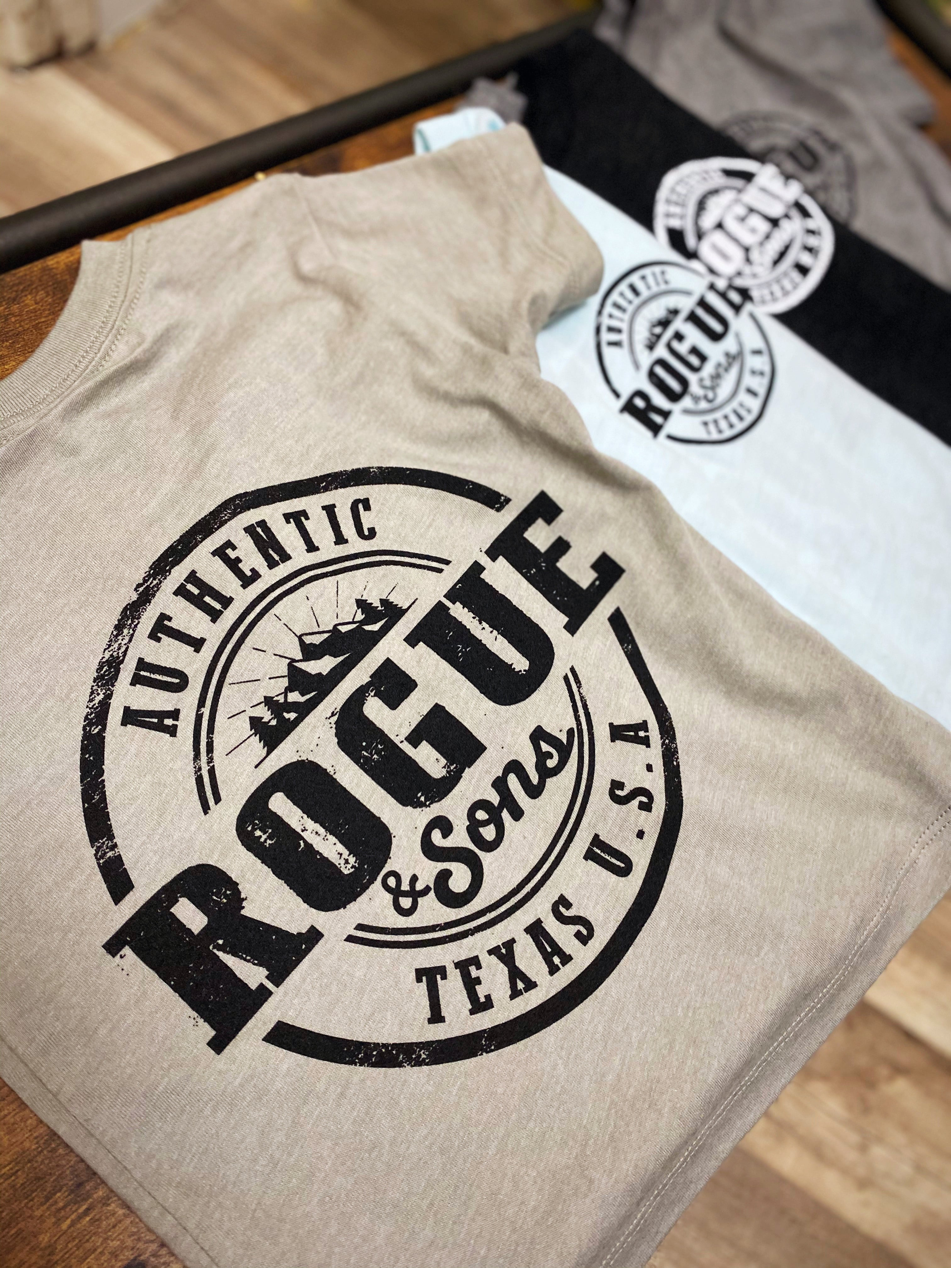 Rogue & Sons Short Sleeve Toddler Tees