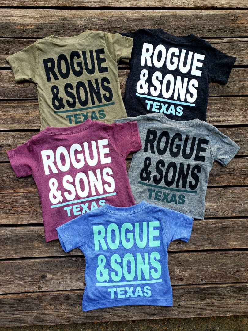 Baby & Toddler Rogue & Sons Store Logo Tee