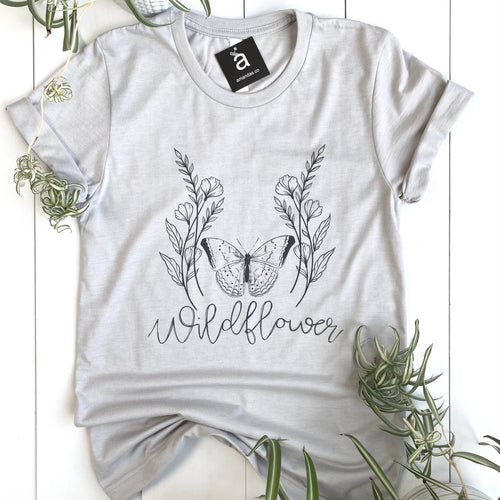 Wildflower & Butterfly Tee