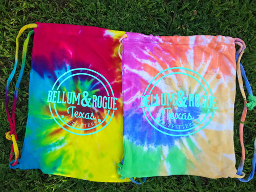 Tye Dye Drawstring Bag