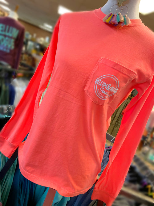 Comfort Colors Pocket Long Sleeve Tee