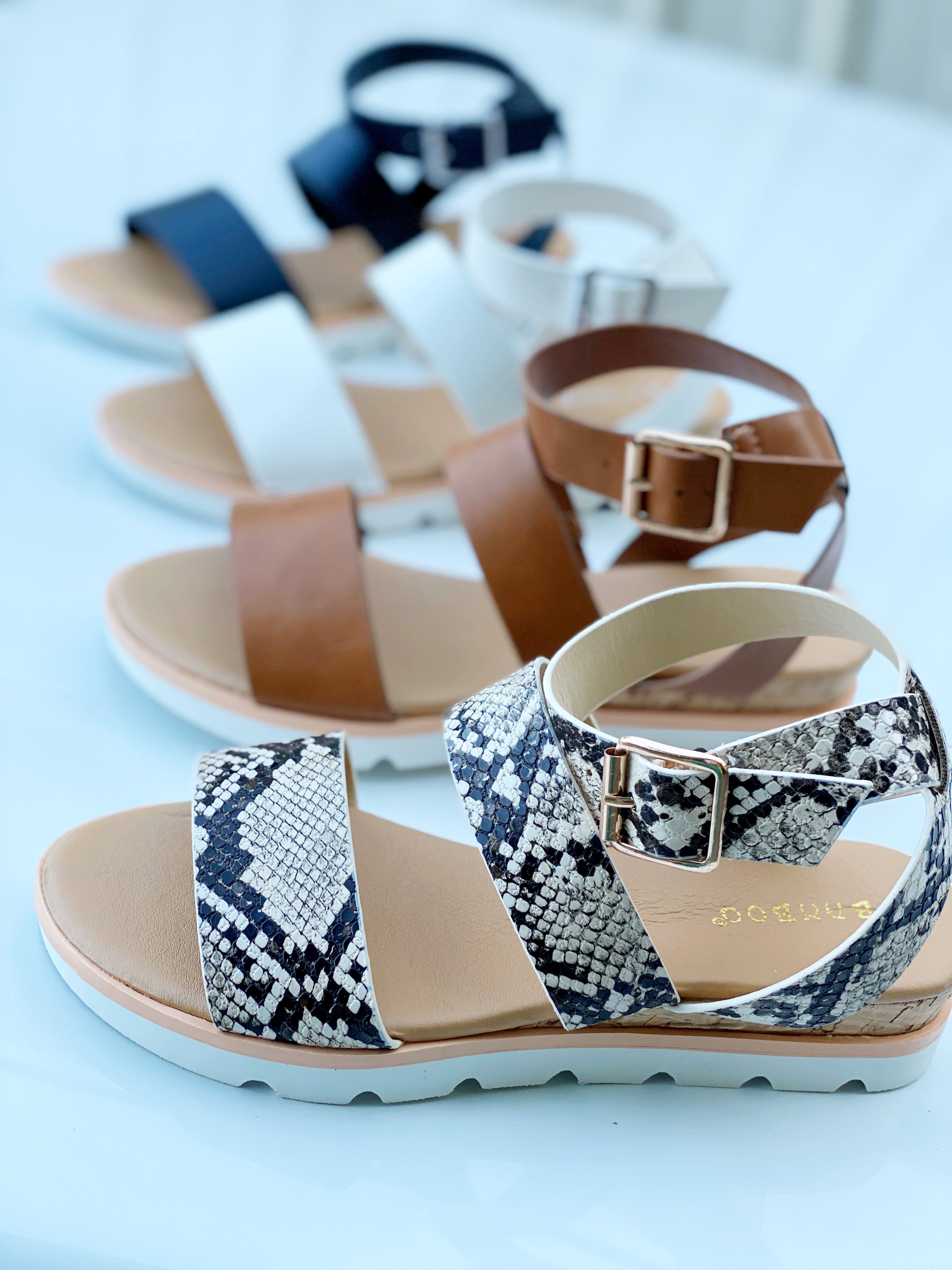 Hotspot Caged Low Heel Sandal
