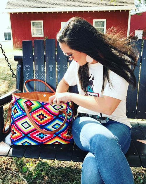 Satillo Southwestern Bag