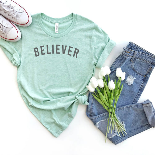 Believer Crew Neck Tee