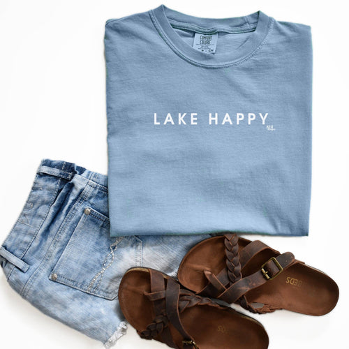 Lake Happy Tee
