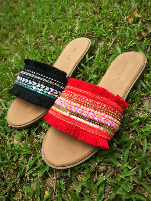Hippie Slip On Sandal