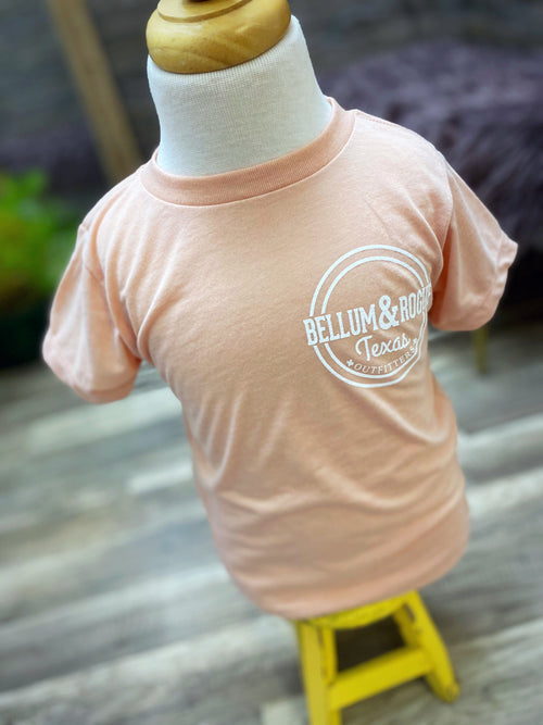 Toddler Short Sleeve Store Circle Logo Tee