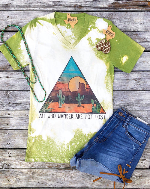 All Who Wander Geo Desert Tee