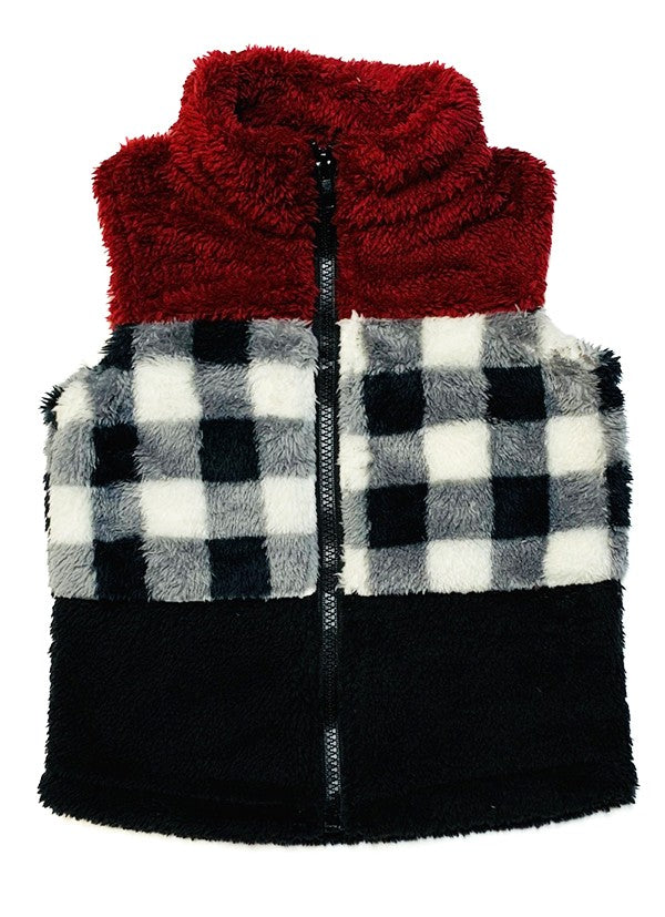 Childrens Sherpa Vest