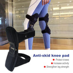 Sportreckless Power Leg Knee Pad Breathable Non Slip Knee Booster Pad Powerful Joint Support Brace Sport Patella Protector