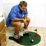 Potty Putter Toilet Golf Game Mini Golf Set Toilet Golf Putting Green Novelty Game Quality For Men and Women
