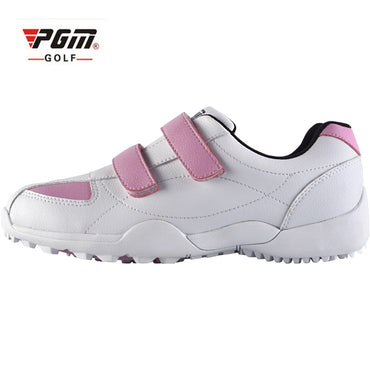 PGM Brand Adult Women Kids Golf Shoe Women Leisure Sport Sneaker Lady Waterproof Breathable Lightweight Golfing Shoes 2 Colors