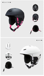 VECTOR Adult Ski Helmet Man Women Professional CE Certification Skating Skateboard Snow Sports Helmets