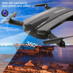 Sportreckless Altitude Hold HD Camera WIFI FPV RC Quad Copter Selfie Fold able Drone