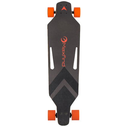 Board Hub Motor Wheels Electric Skateboard Long board With Remote Control Max B (38 Inch)