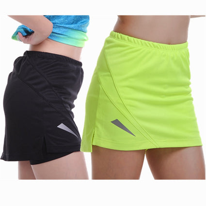 Sports Tennis Yoga Storks Fitness Short Skirt Badminton Breathable Quick Drying Women Sport Ping Pong Table Tennis Skirts