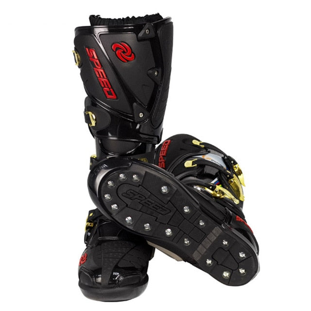 Professional  Motorcycle Shoes Off Road Boots