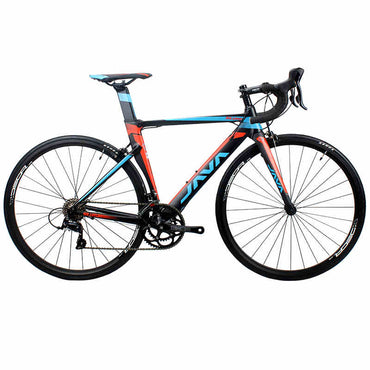 JAVA SILURO Road Bike 700,C Aluminium Frame with Carbon Fork SORA 3000 18 Speed Racing Bicycle