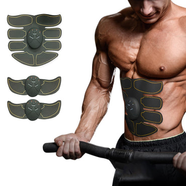 Muscle Stimulation Body Slimming Machine Abdominal Muscle Exerciser Training Fat Burning Body Building Fitness Massages