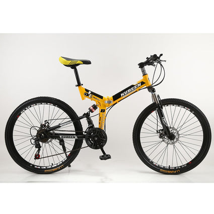 Mountain Bike 26-Inch Steel 21-Speed Bicycles Dual Disc Brakes Variable Speed Road Bikes Racing Bicycle BMX Bike