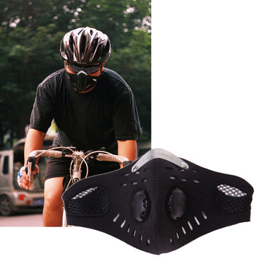 Cycling Mask Protective Exercise Running Mask Anti-fog Outdoor Bicycle Half Mask With Filter Helmet Face Protector