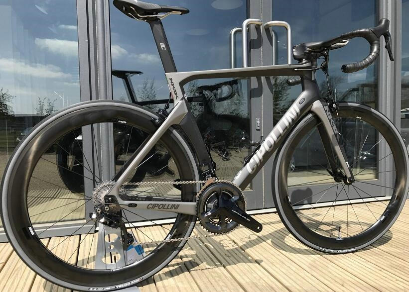 NEW Design Sliver Cipollini NK1K Carbon Fiber Road Complete Bike With Original 5800 ULTEGRA R8000 group set