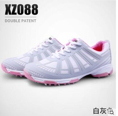 New PGM Golf Shoes WOMEN'S Double Patent High Shoes Waterproof Sliding Golf Shoes