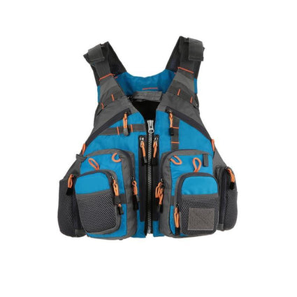 Outdoor Sport Fishing Life Vest Men Breathable Swimming Life Jacket Safety Wais