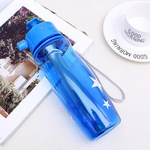 Multi-functional Spray Water Bottle for Drinking Mister  Water Sprayer in Travel Camping and Dog Drinking