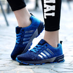 Hot New Sale Trend Running Shoes Men Sneakers Breathable Mesh Shoes Eva Women Sport Ruining Shoes Plus Large Size.