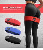 Men&women Hip Resistance Bands Booty Leg Exercise Elastic Bands For GYM Yoga Stretching Training Fitness Workout