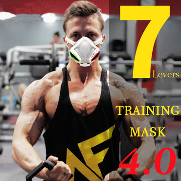 Sports Training Mask 4.0 Cycling Face Mask Fitness Workout Gym Exercise Running Bike Bicycle Mask Elevation Cardio Mask