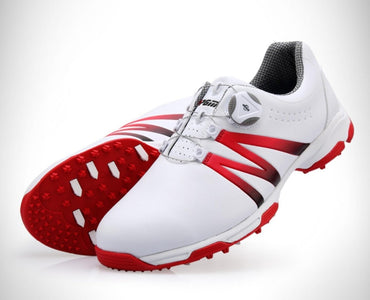 PGM Golf Shoes Men's Waterproof Breathable Antiskid Shoes Shoelaces Sports Shoes Spiked Shoes