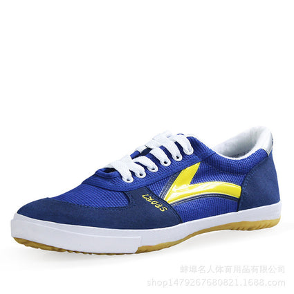 Table Tennis Shoes New Canvas Sneakers Men Anti Slip Ox Tendon Bottom Fitness Training Sports Women Shoes Size 35-45