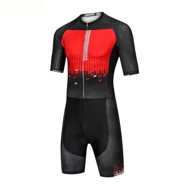 Men's Pro Super Speed Suit Cycling Skin Suit Men's Triathlon Sports Clothing Cycling Clothing Set Maillot