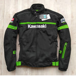Wholesale Motocross Jacket For KAWASAKI Team Green Professional Motorcycle Racing Jackets With Protective Gear KQ