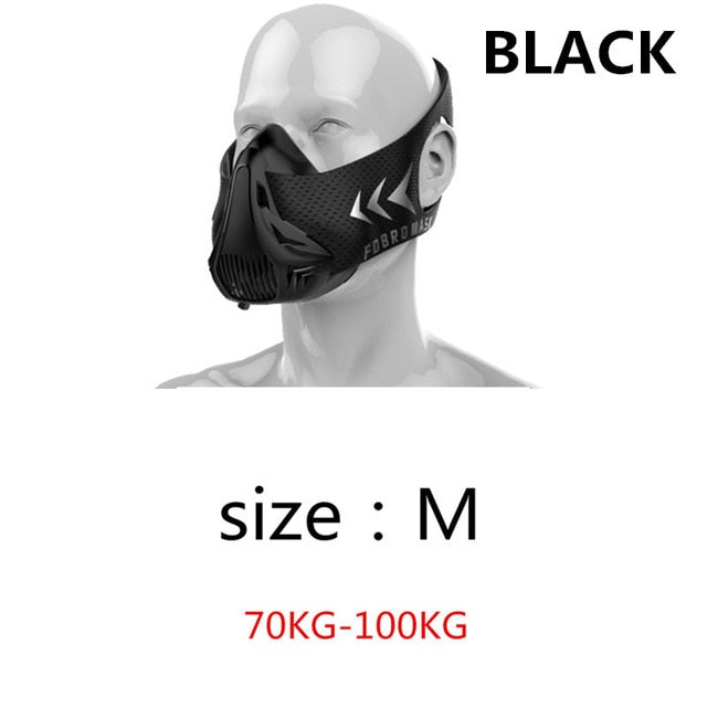 Sports Masks 2.0 Phantom Training Elevation Cycling Masks Running Cardio High Altitude Protective Breathing Trainer Filter