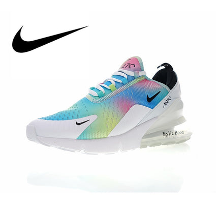 NIKE Air Max 270 Women's Breathable Running Shoes Sport Outdoor Sneakers Athletic Massage Designer Footwear Low Top