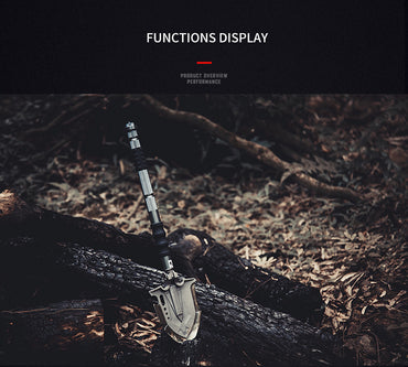 2019 Annihilate F A3 Outdoor Survival Tactical Folding Camping Shovel, Military Equipment, Emergency Multi Tool