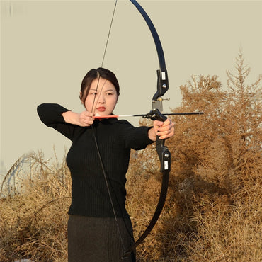 Archery Re Curve Take Down Bow 25 30 35 lbs Right Handed for Beginner Practice Hunting Shooting Training