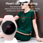 Q1 Color Screen Smart Watch IP68 Waterproof Heart Rate Sleep Health Monitoring Sports Wristband Smart Watch
