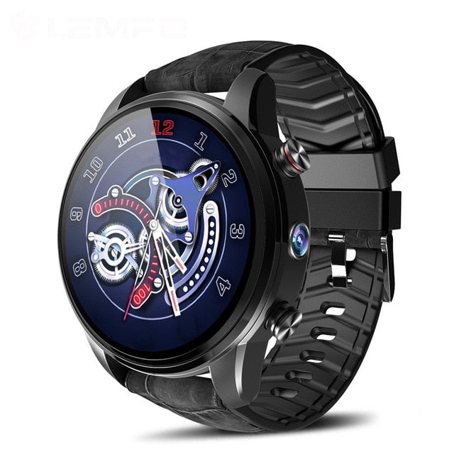 Smart Watch For Android 7.1.1 LTE 4G Sim GPS WIFI 2MP Front Camera Heart Rate IP67 Waterproof Smart Watch for Men Women