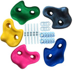 5PCS Fashion Textured Climbing Rocks Wall Stones Kids Assorted Bolt Indoor Sport