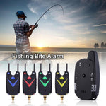 JY-59 Wireless Carp Fishing Bite Alarm Fishing Rod Illuminated Swingers Anti-off Bar Alert Set